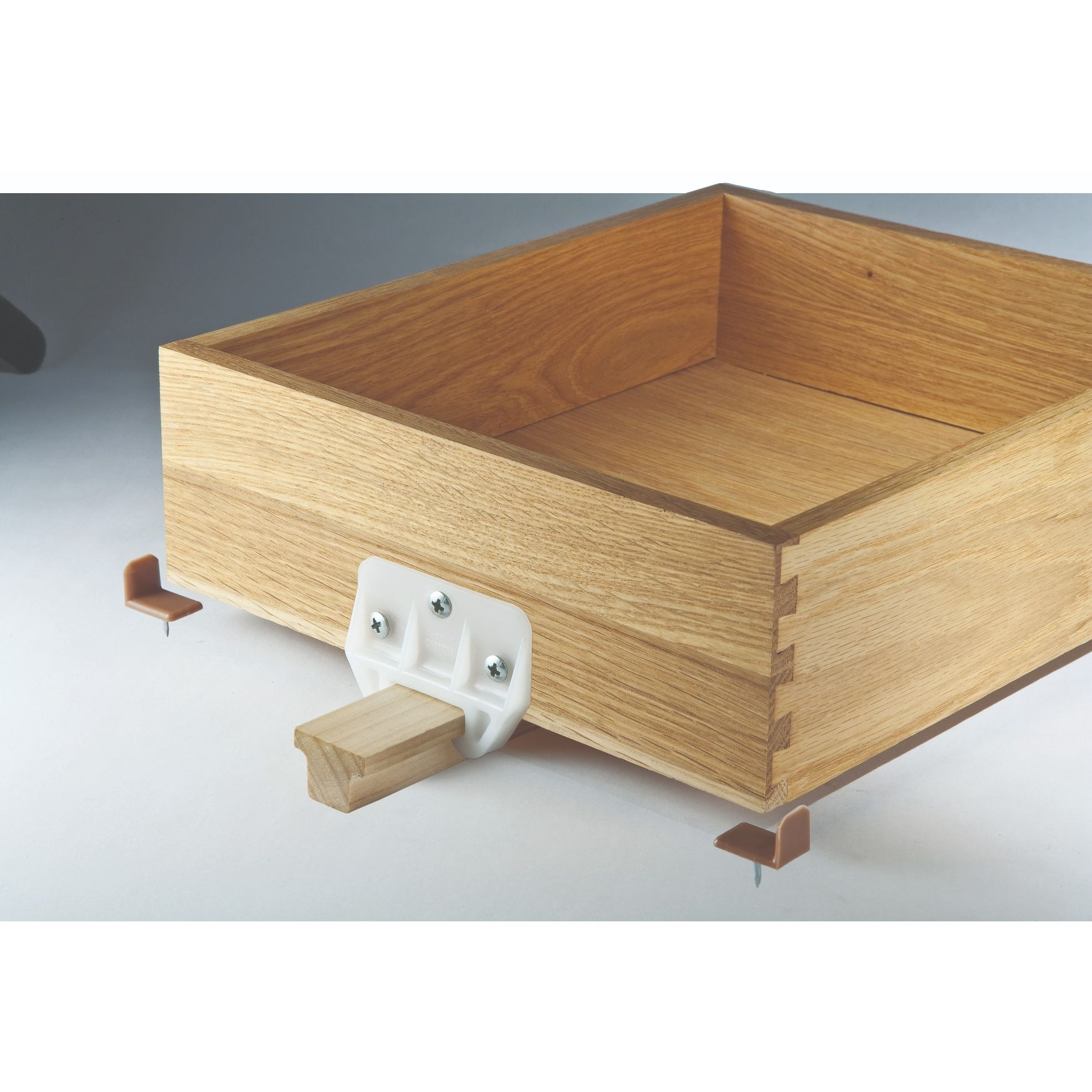 drawer track guide and glides
