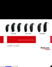 resound hearing aid user guide