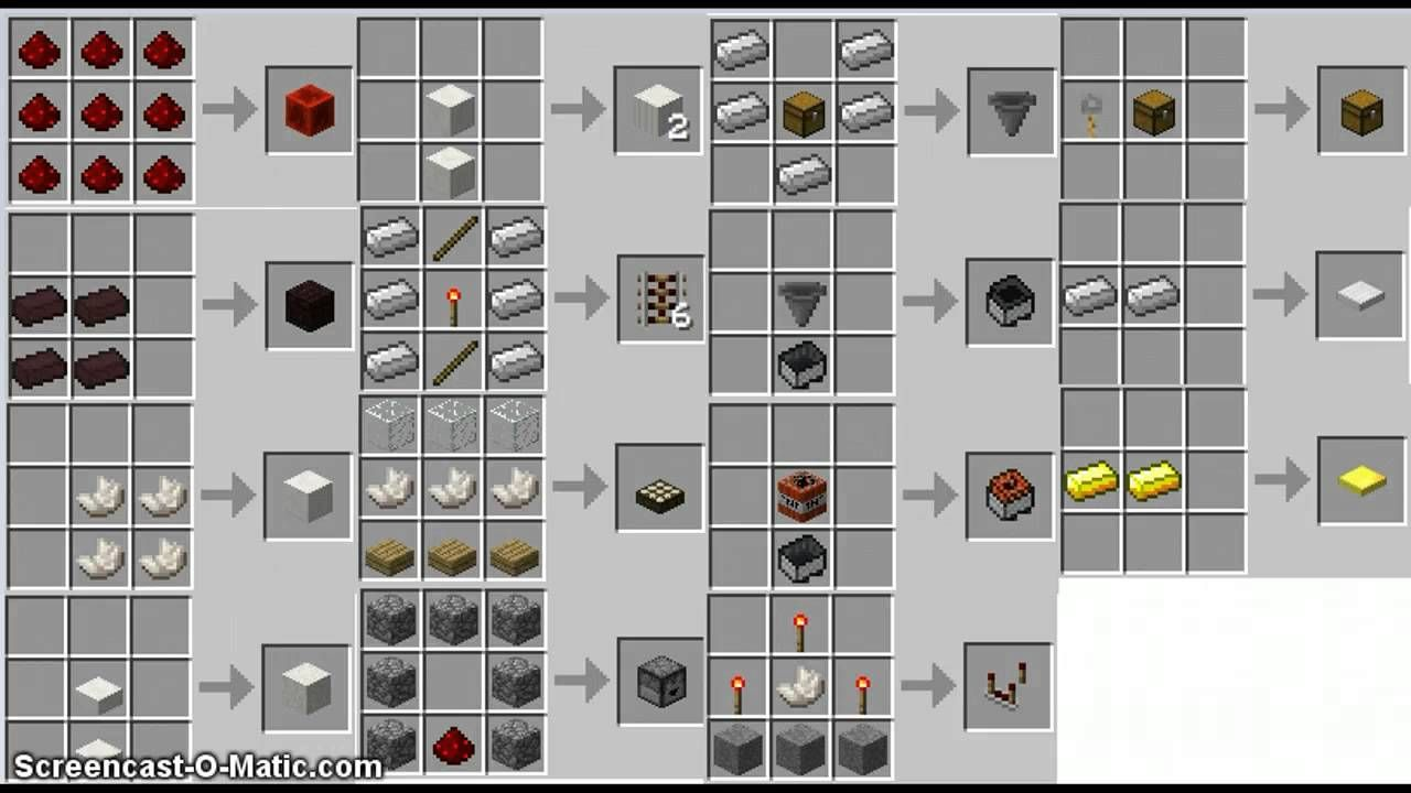 crafting guide mod 1.8