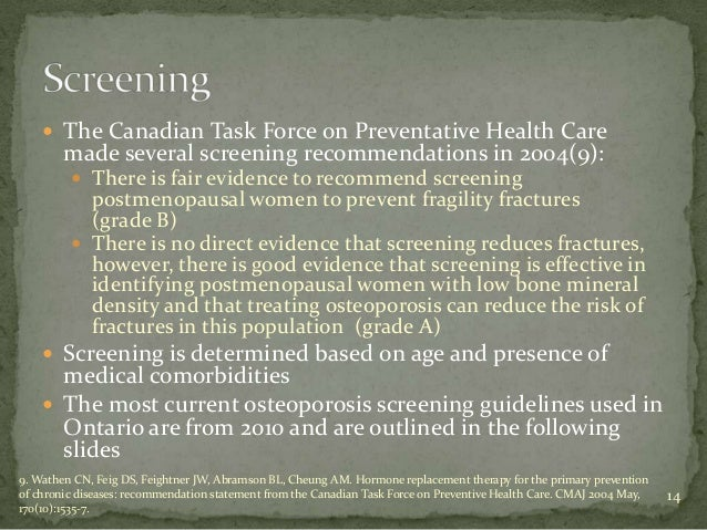 osteoporosis canada quick reference guide