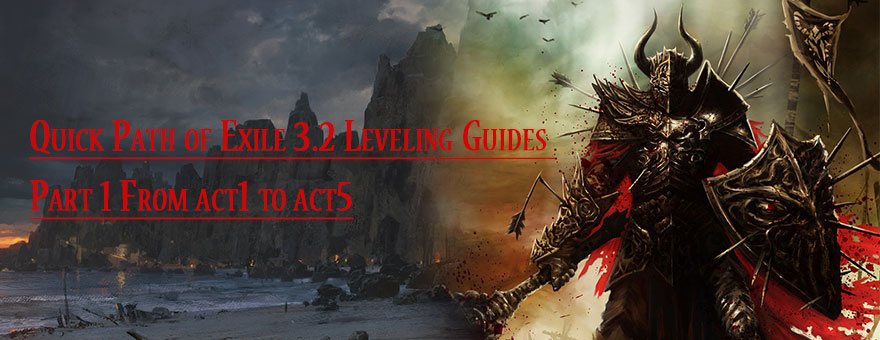 path of exile witch leveling guide